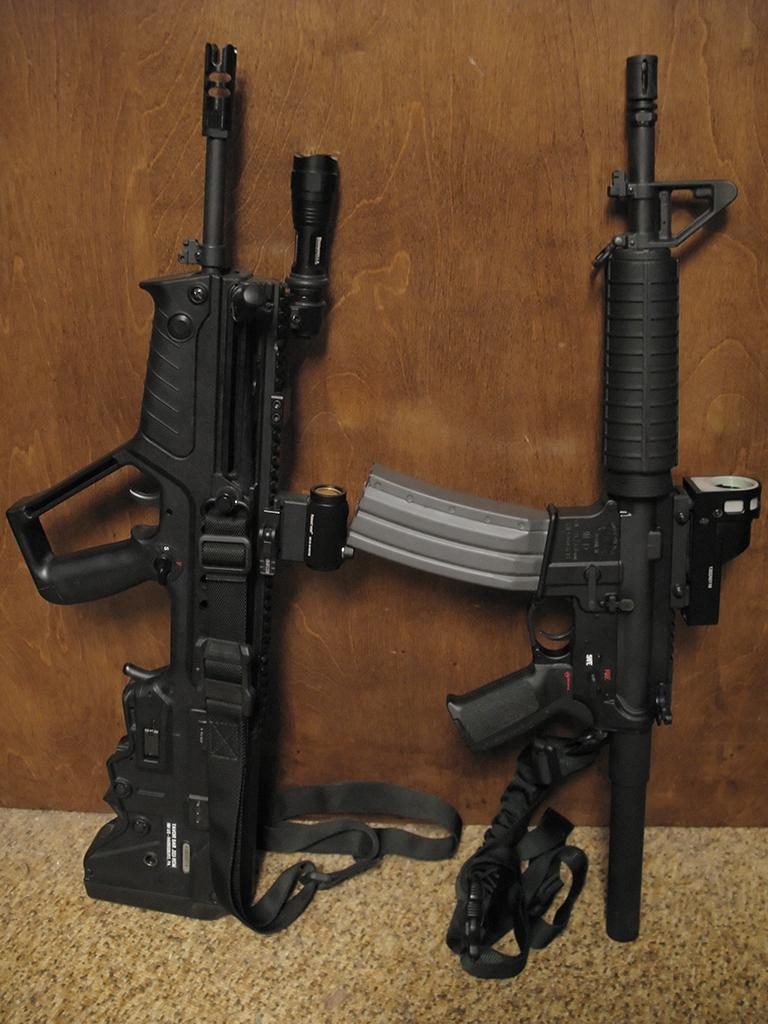 """18"""" Tavor vs. 10.5"""" AR Pistol!"""