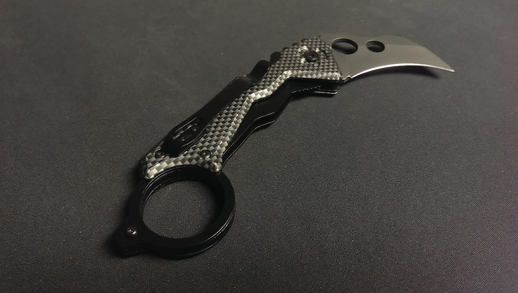 The fake carbon fiber sells it, really.