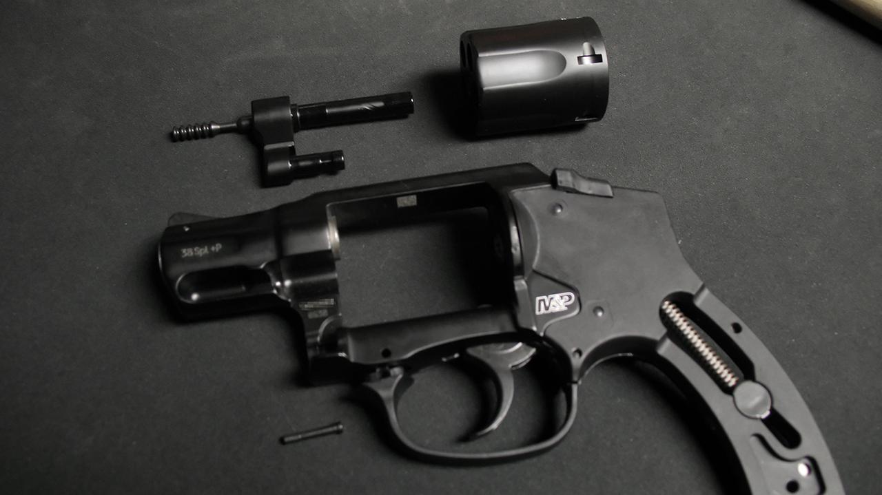 Detail Strip Guide: S&W Bodyguard .38 Revolver « Apex Gunsmithing